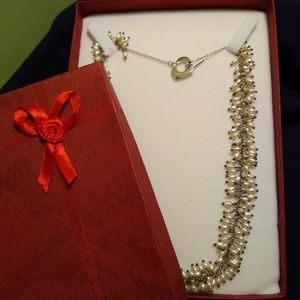 Beautiful seed Pearl necklace